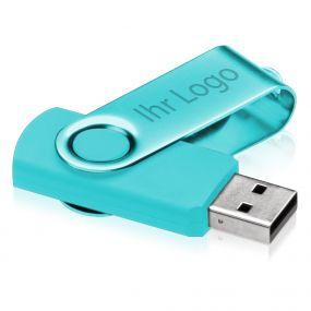 USB Stick Swing mit eingefärbtem Bügel von 1GB -32 GB, verschiedene Farben, USB 2.0 als Werbeartikel