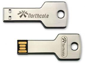 MEMORY-STICK KEY in Schlüsselform, USB 2.0 als Werbeartikel
