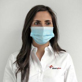 Medizinische (MNS) Mund-Nasen-Schutzmaske als Werbeartikel