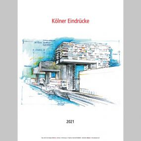 """Kalender """"Köln 2021"""""""