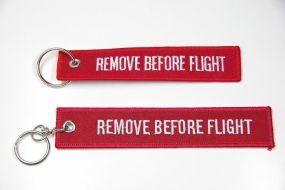 "Schlüsselanhänger Sonderanfertigung ""Remove Before Flight""- oder anderes Motiv"