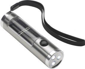 LED Solartaschenlampe Reflects als Werbeartikel