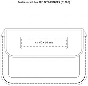 Visitenkartenbox Reflects Limoges als Werbeartikel
