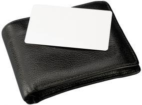 Kreditkarten-Schutzhülle RFID Blocker Card als Werbeartikel