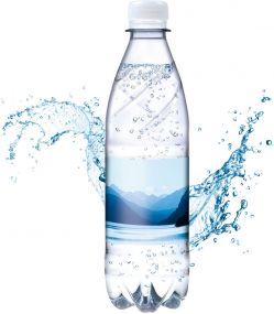 Tafelwasser, 500 ml, spritzig, Smart Label (pfandfrei, Export)