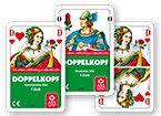 Doppelkopf Deutsches Bild inkl. Werbedruck als Werbeartikel