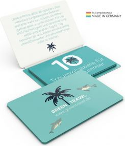 Individueller Faltplan Concept-Card Small 24 Recycling