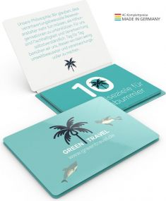 Individueller Faltplan Concept-Card Large 24 Recycling