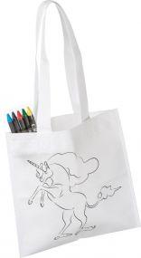 Kinder Tasche Unicorn als Werbeartikel