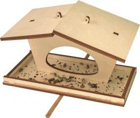 Vogelfutterhäuschen im Einzelkarton