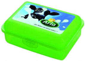 Bio-Snack-Box Uno mit 4c In-Mould-Label