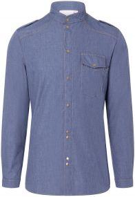 Kochhemd Jeans-Style als Werbeartikel