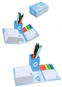 C-BOX Notizzettel Stiftebox inkl. Werbedruck