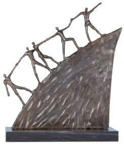 Skulptur Weg nach vorn