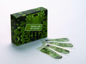 Pflastermäppchen BigPack mit 4c-Digitaldruck