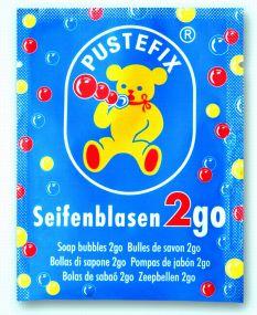 Pustefix Seifenblasen 2go als Werbeartikel