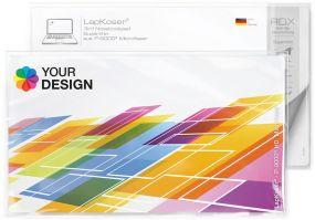 LapKoser® 3in1 Notebookpad 28x16 cm im Polybeutel mit Standardkarte