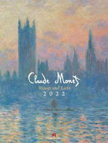 Kalender Claude Monet 2021 als Werbeartikel