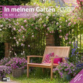 Kalender In meinem Garten