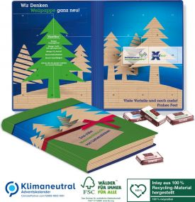 Adventskalender Weihnachtsbuch Exklusiv als Werbeartikel