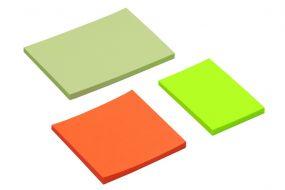 Haftnotizblock Basic, 10x7,2 cm, 50 Blatt, 4c