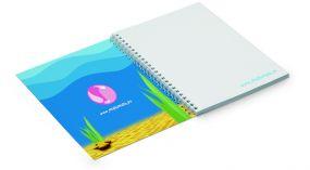 Spiralnotizbuch im Softcover A5 (College block)