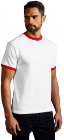 Promodoro Herren T-Shirt Contrast als Werbeartikel
