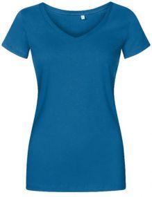 Promodoro X.O Damen T-Shirt mit V-Ausschnitt