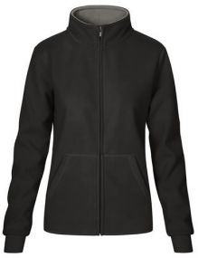 Promodoro Damen Double Fleece Jacke
