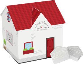 Haus mit Pfefferminz