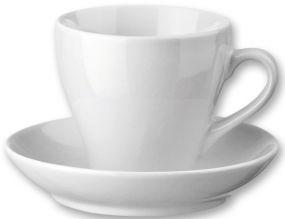 HANNAH Tasse mit Untertasse, 150 ml als Werbeartikel