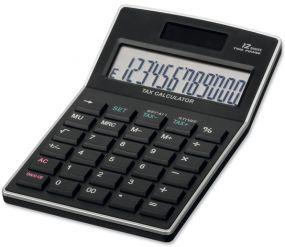 KALEB Taschenrechner mit 12-stelligen Display als Werbeartikel