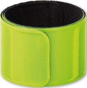 SEGURON Reflexband - Schnapparmband als Werbeartikel