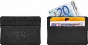 Kreditkartenetui Look Plus Deluxe BlackMaxx® als Werbeartikel