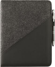 Pad Folio Pulse Pad Blackmaxx® als Werbeartikel