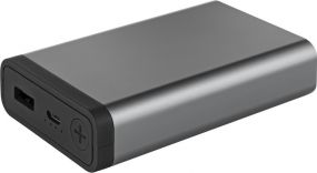 Powerbank Mr. Charge Compact Metall 10 Metmaxx® als Werbeartikel