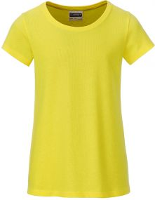 Mädchen T-Shirt Basic aus Bio-Baumwolle als Werbeartikel