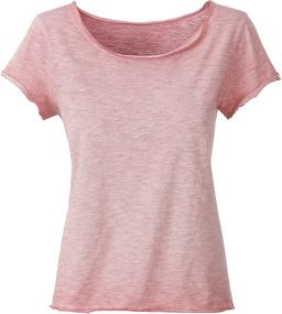 Damen T-Shirt Spray Print Bio-Baumwolle