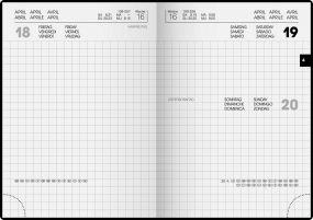 Taschenkalender Modell 736 als Werbeartikel