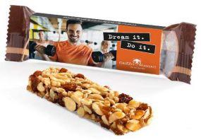 Corny Nussriegel als Werbeartikel