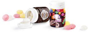 Top Can® Pfefferminzpastillen zuckerfrei als Werbeartikel