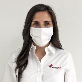 Mund- und Nasenschutz aus Baumwolle als Werbeartikel
