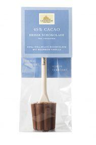 Heiße Schokolade - Plain Vollmilch, 45% Cacao als Werbeartikel