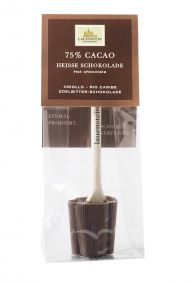 Heiße Schokolade - Plain Edelbitter, 75% Cacao als Werbeartikel
