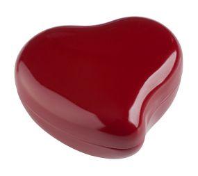 Pralinen Herz-Döschen Rot