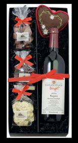 Geschenk-Set: Lust auf Rotwein als Werbeartikel