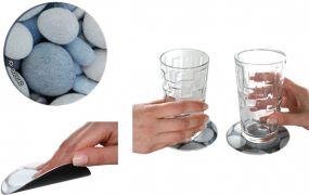 Soft-Untersetzer Mini-Pad Circle als Werbeartikel als Werbeartikel
