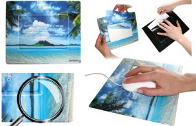 Mousepad mit Fotoeinschub Square1