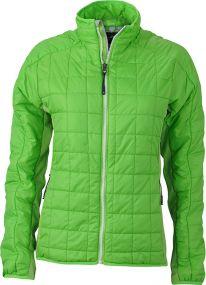 Leicht wattierte Jacke für Damen als Werbeartikel