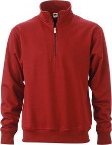 Arbeits Sweatshirt Half Zip